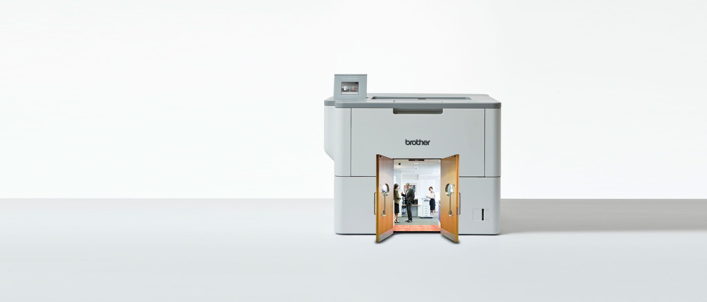 Brother printer with picture inside