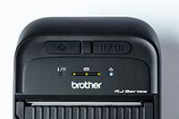 RJ3035B ali RJ3055WB 76,5 mm mobilni tiskalnik-detajl