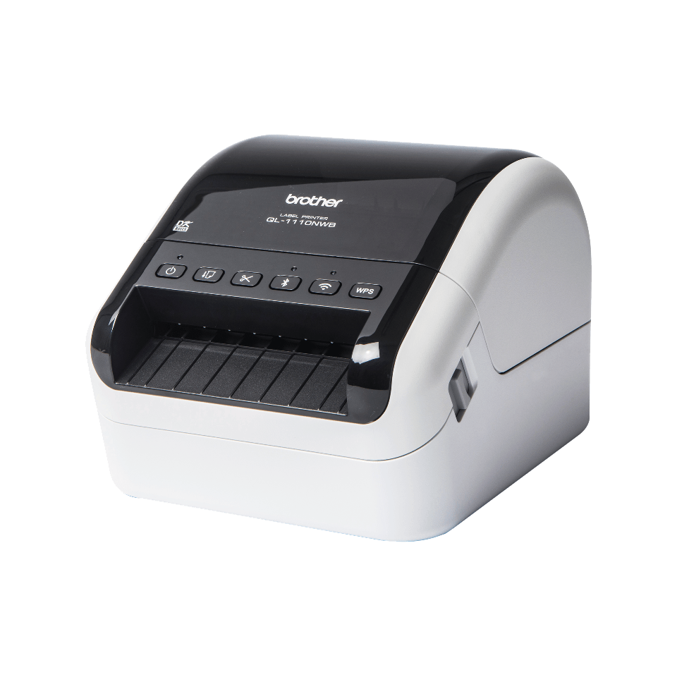 QL-1110NWB tiskalnik širokih transportnih nalepk s črtnimi kodami 2