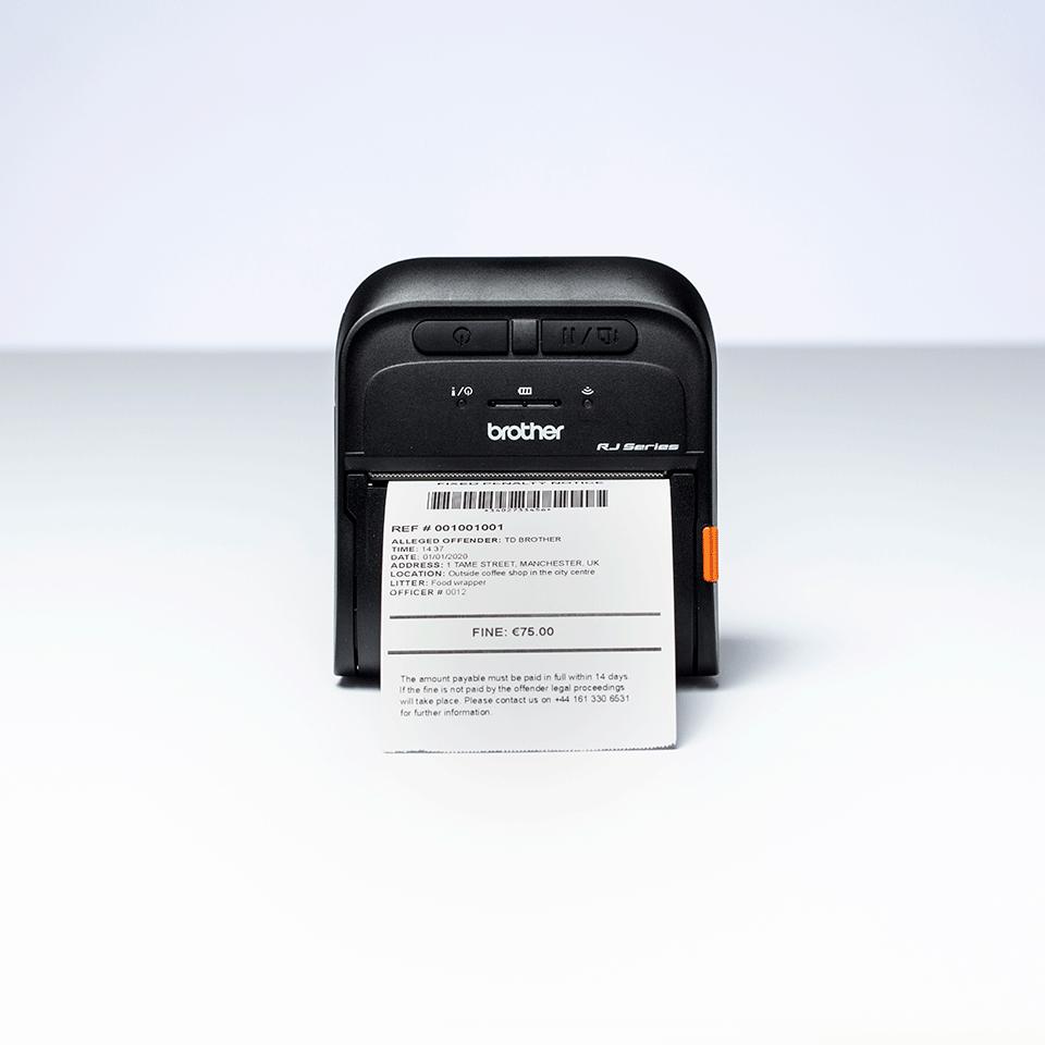 Brother RJ-3055WB mobilni tiskalnik nalepk in računov 6