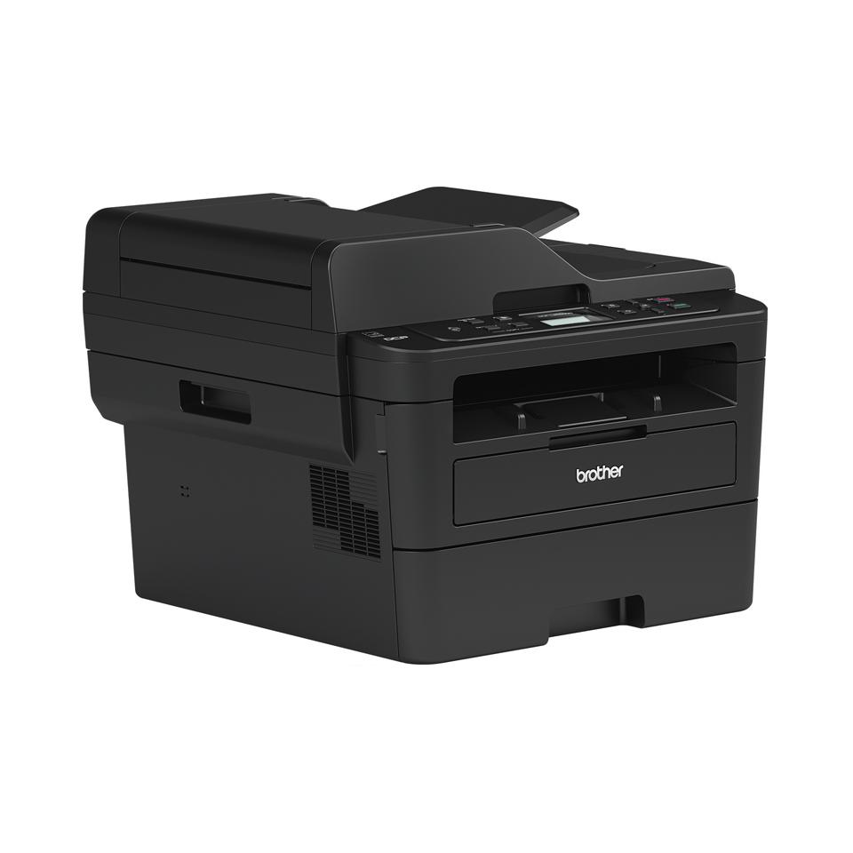 DCP-L2552DN kompaktna omrežna črno-bela laserska večfunkcijska naprava 3-v-1 3
