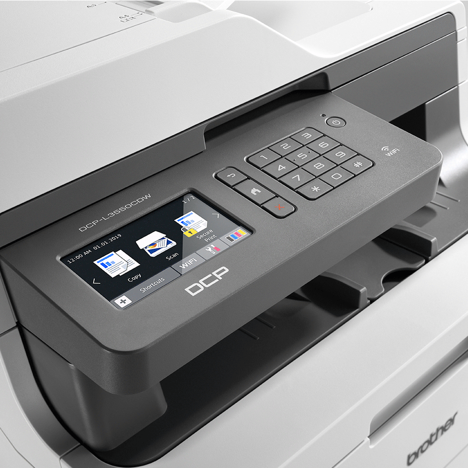 DCP-L3550CDW  brezžična barvna laserska večfunkcijska naprava 3-v-1 4