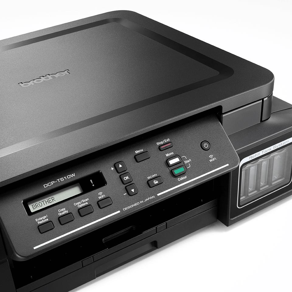 DCP-T310 InkBenefit Plus 3-v-1 barvna brizgalna večfunkcijska naprava Brother 3