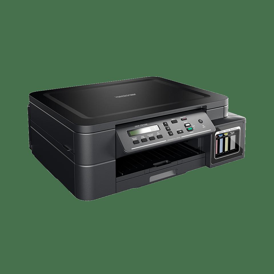 DCP-T510W InkBenefit Plus 3-v-1 brezžična barvna brizgalna večfunkcijska naprava Brother 2