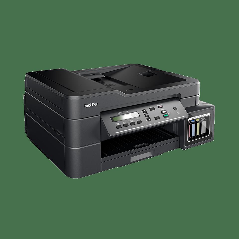DCP-T710W InkBenefit Plus 3-v-1 brezžična barvna brizgalna večfunkcijska naprava Brother 2