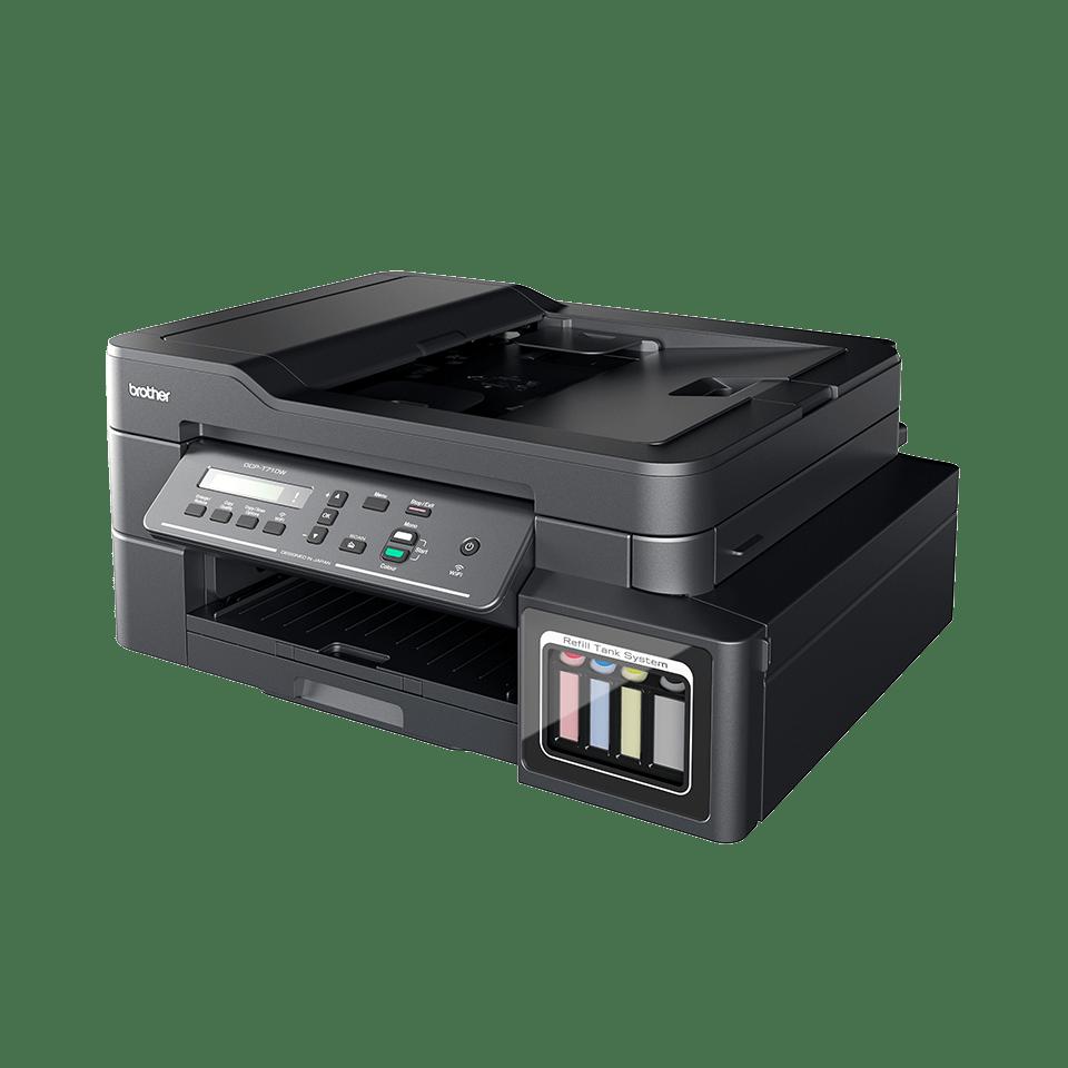 DCP-T710W InkBenefit Plus 3-v-1 brezžična barvna brizgalna večfunkcijska naprava Brother