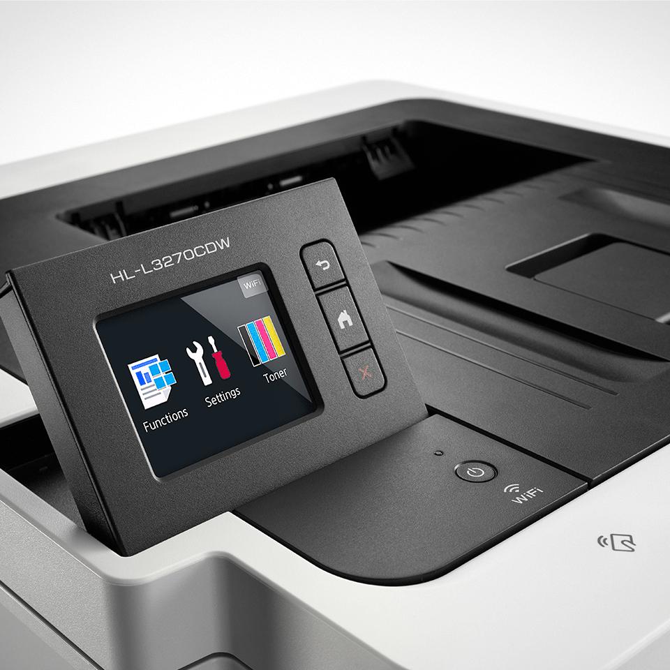 HL-L3270CDW brezžični barvni laserski tiskalnik 3