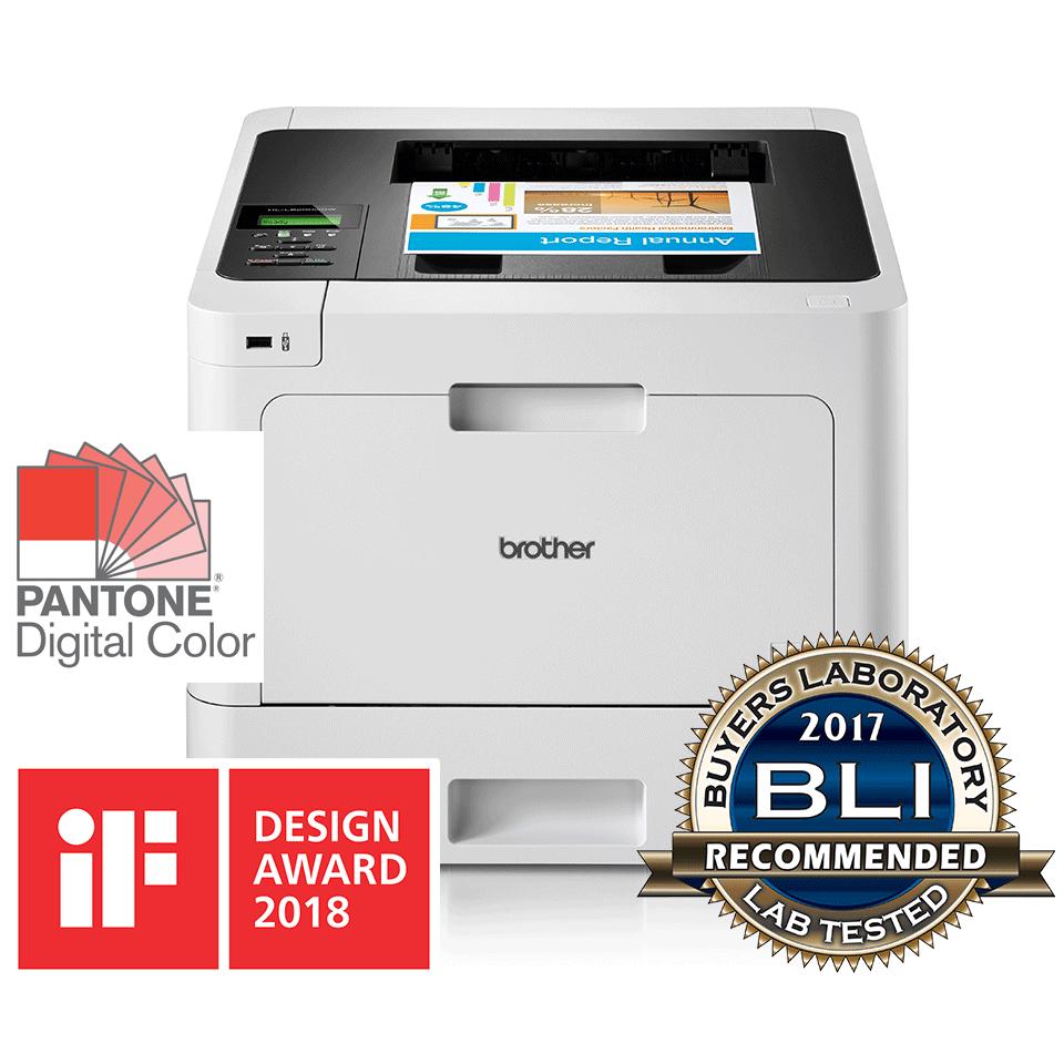 HL-L8260CDW barvni laserski tiskalnik z obojestranskim in brezžičnim tiskanjem 2