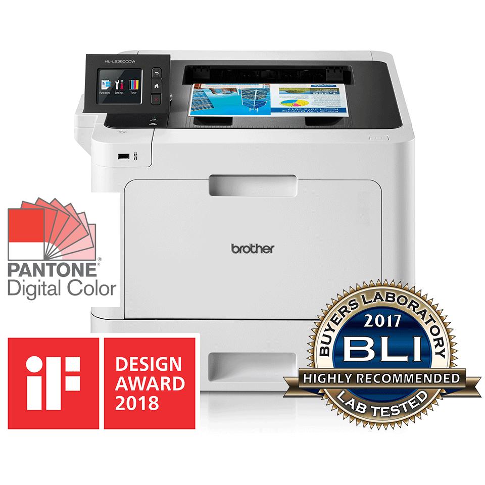 HL-L8360CDW barvni laserski tiskalnik z obojestranskim in brezžičnim tiskanjem