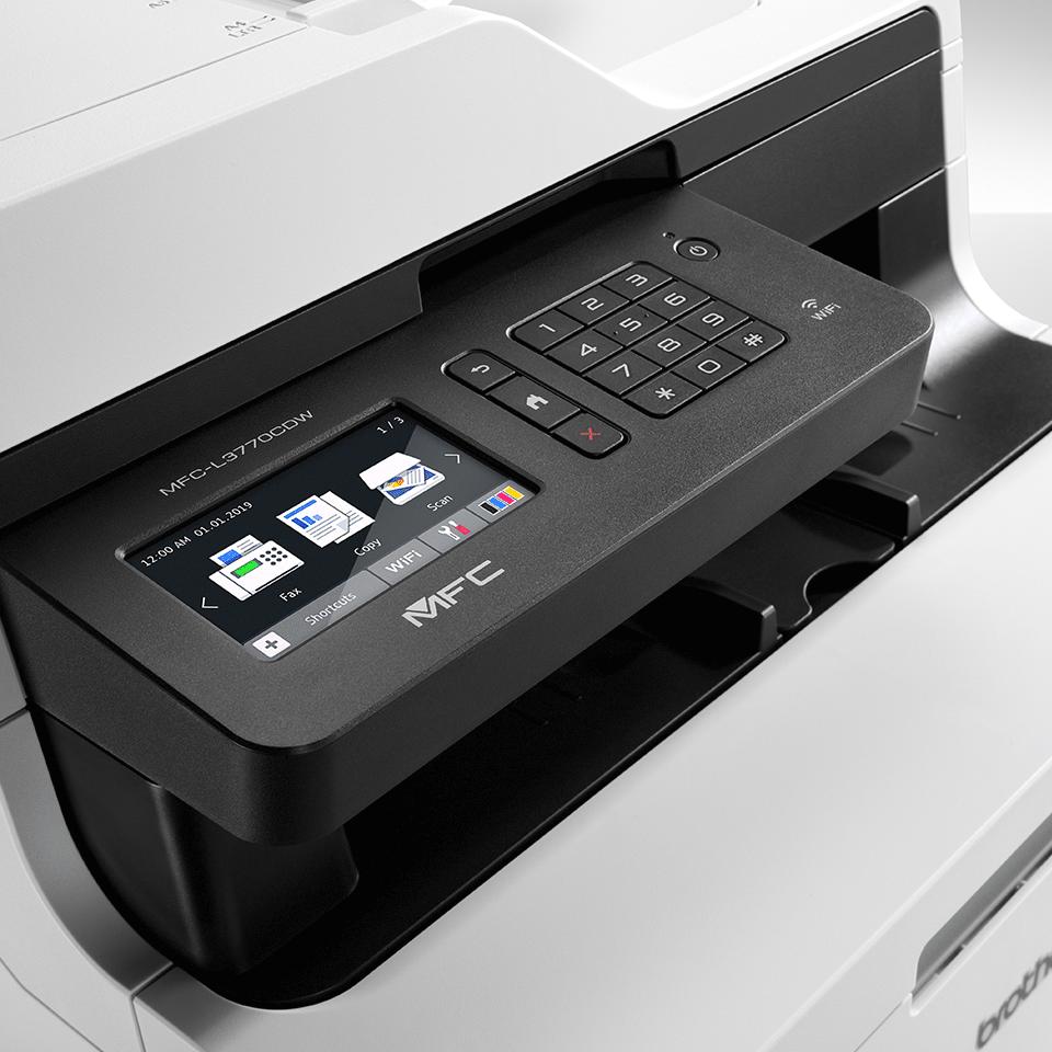 MFC-L3770CDW brezžična barvna laserska večfunkcijska naprava 4-v-1 4