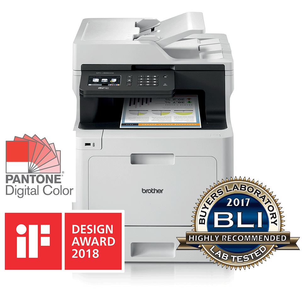 MFC-L8690CDW barvna laserska večfunkcijska naprava s faksom ter obojestranskim in brezžičnim tiskanjem 3