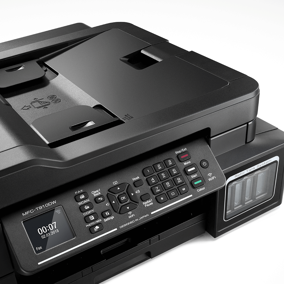 MFC-T910 InkBenefit Plus 4-v-1 barvna brizgalna večfunkcijska naprava Brother 5
