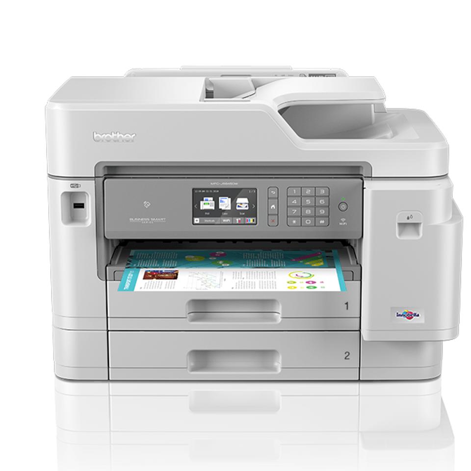 MFC-J5945DW brezžična A3 barvna brizgalna večfunkcijska naprava za tiskanje, kopiranje, skeniranje in faksiranje*