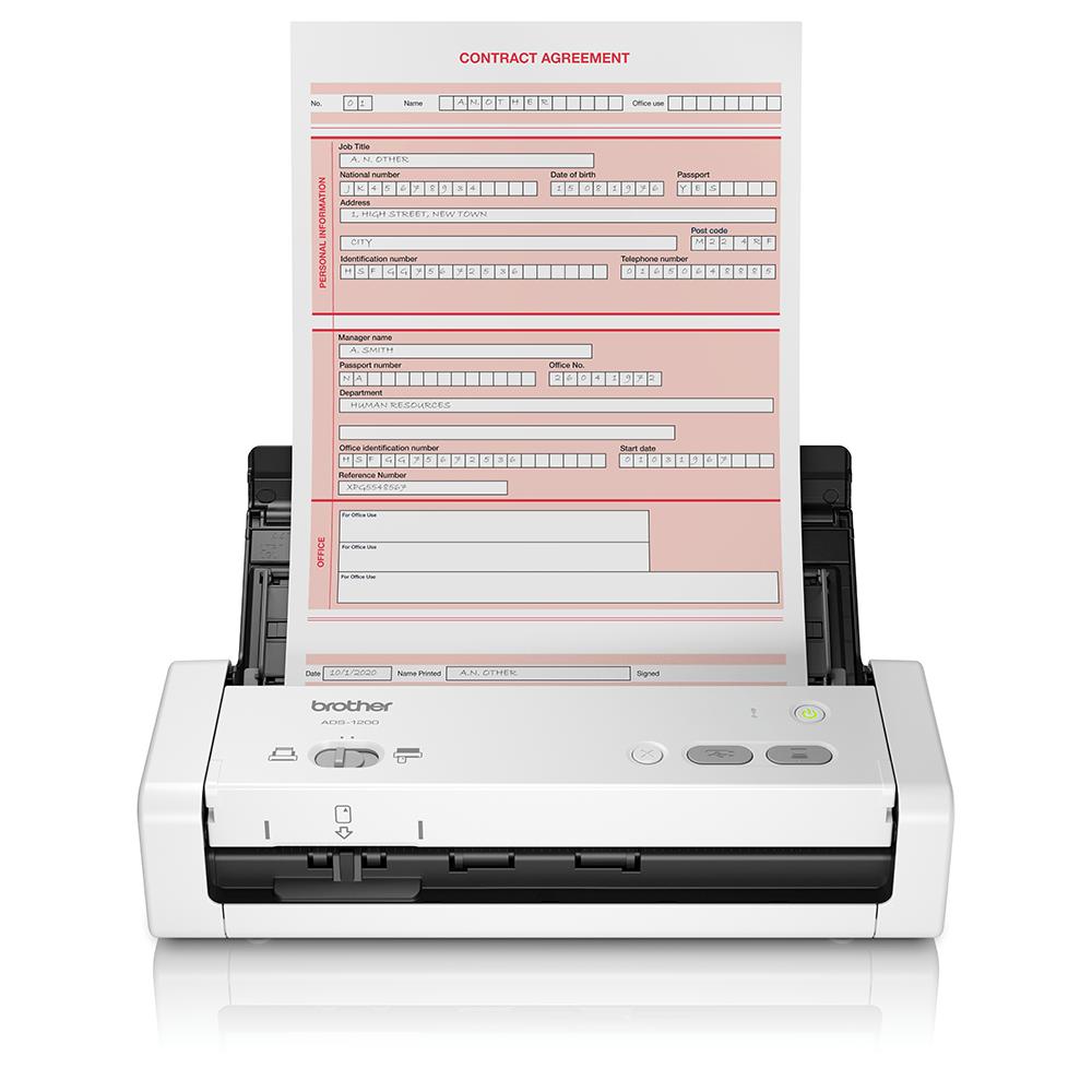 ADS-1200 kompaktni prenosni dokumentni skener