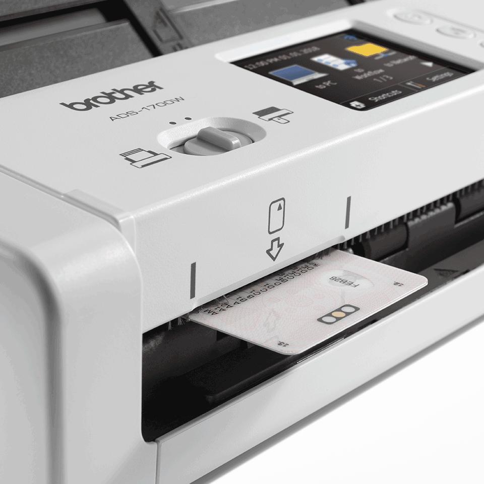 ADS-1700W pametni kompaktni dokumentni skener 7