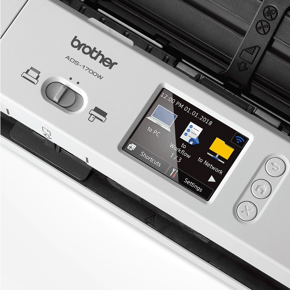 ADS-1700W pametni kompaktni dokumentni skener 8