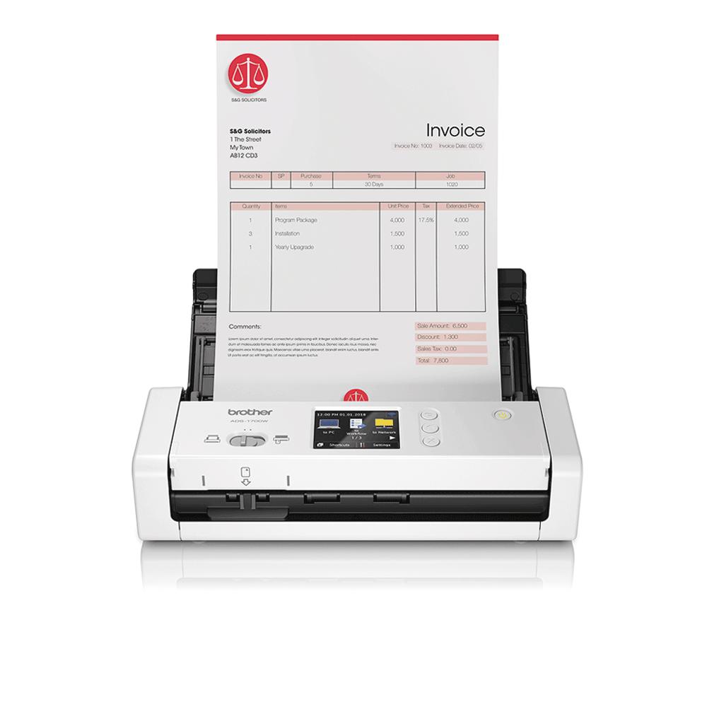 ADS-1700W pametni kompaktni dokumentni skener