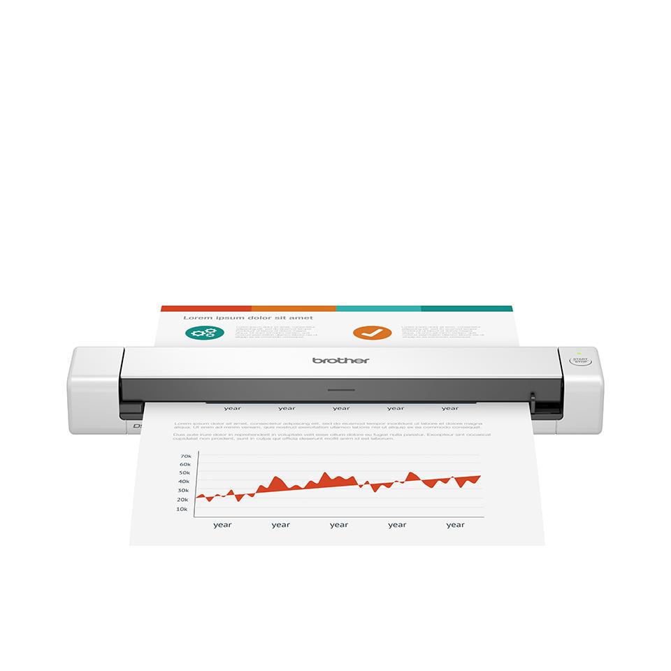 DSmobile DS-640 mobilni dokumentni skener Brother