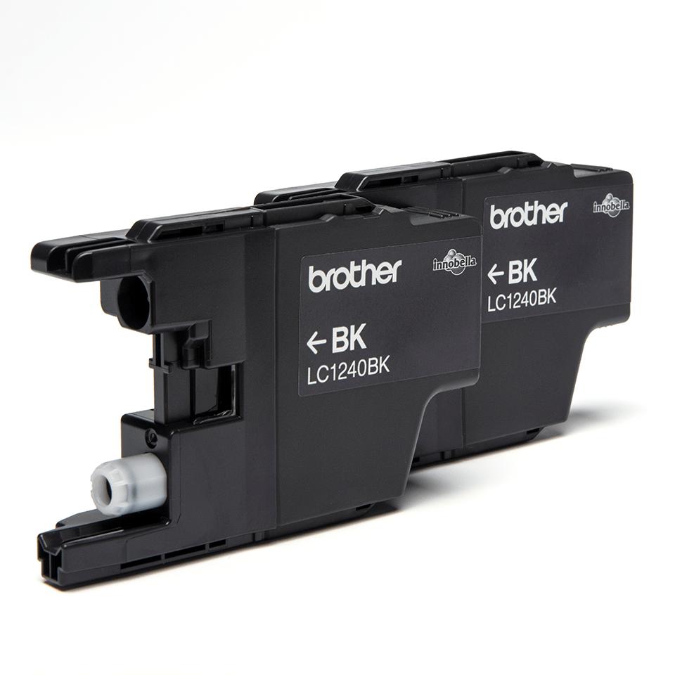 Originalna Brother LC1240BKBP2 kartuša - črna (paket blister) 2