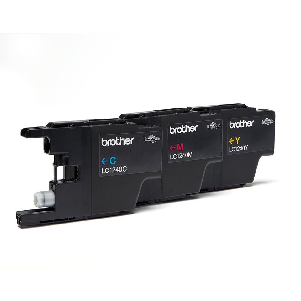 Originalna Brother LC1240RBWBP kartuša - paket Rainbow blister 2