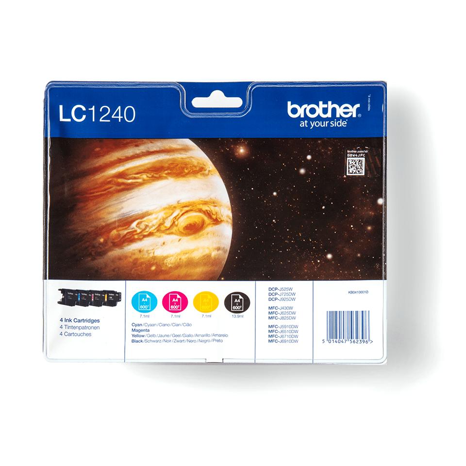 Originalna Brother LC1240VALBP kartuša - paket