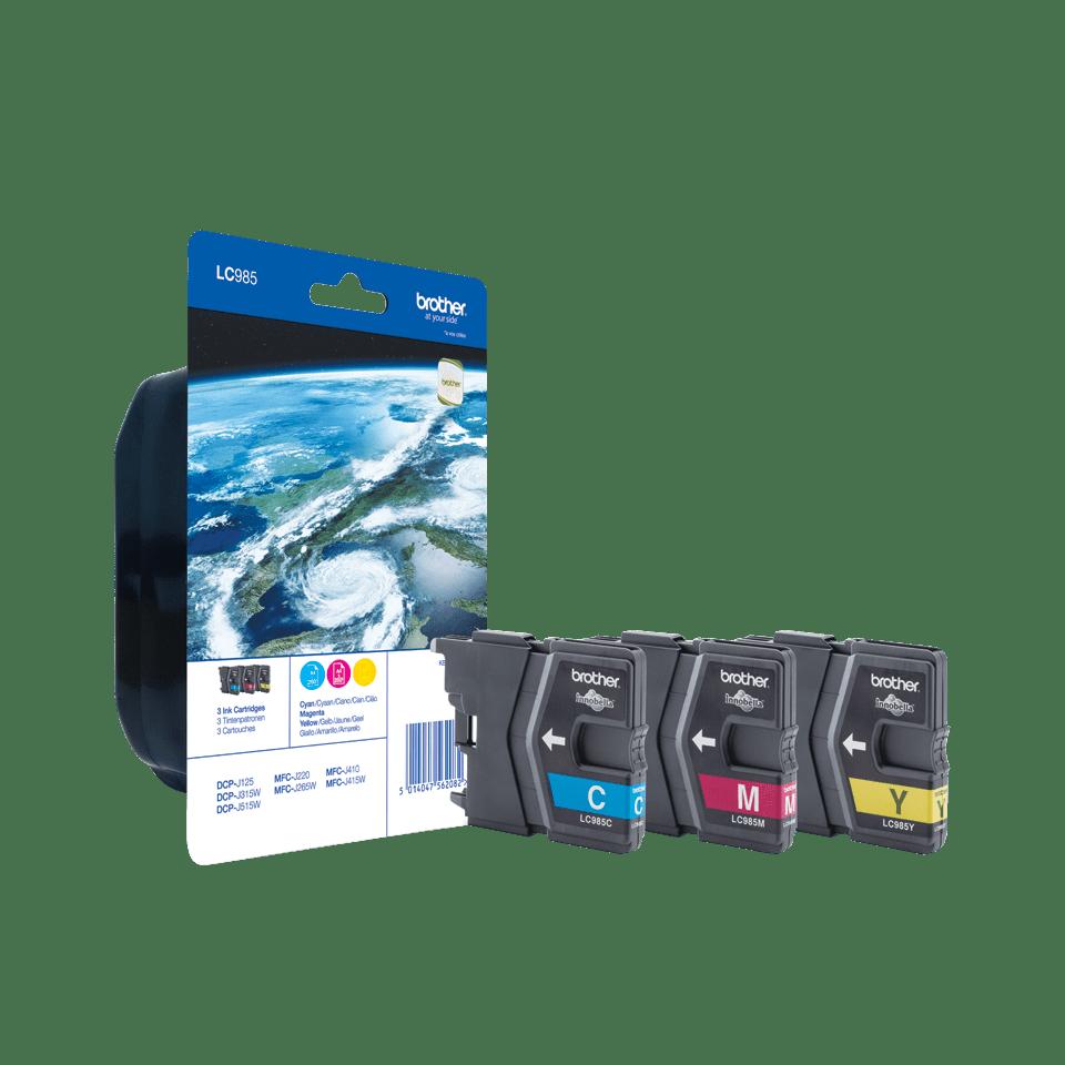Originalna Brother LC985RBWBP kartuša - paket Rainbow blister