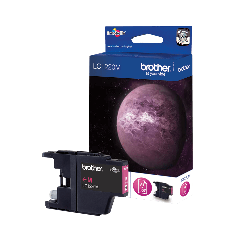 Originalna kartuša Brother LC1220M – magenta