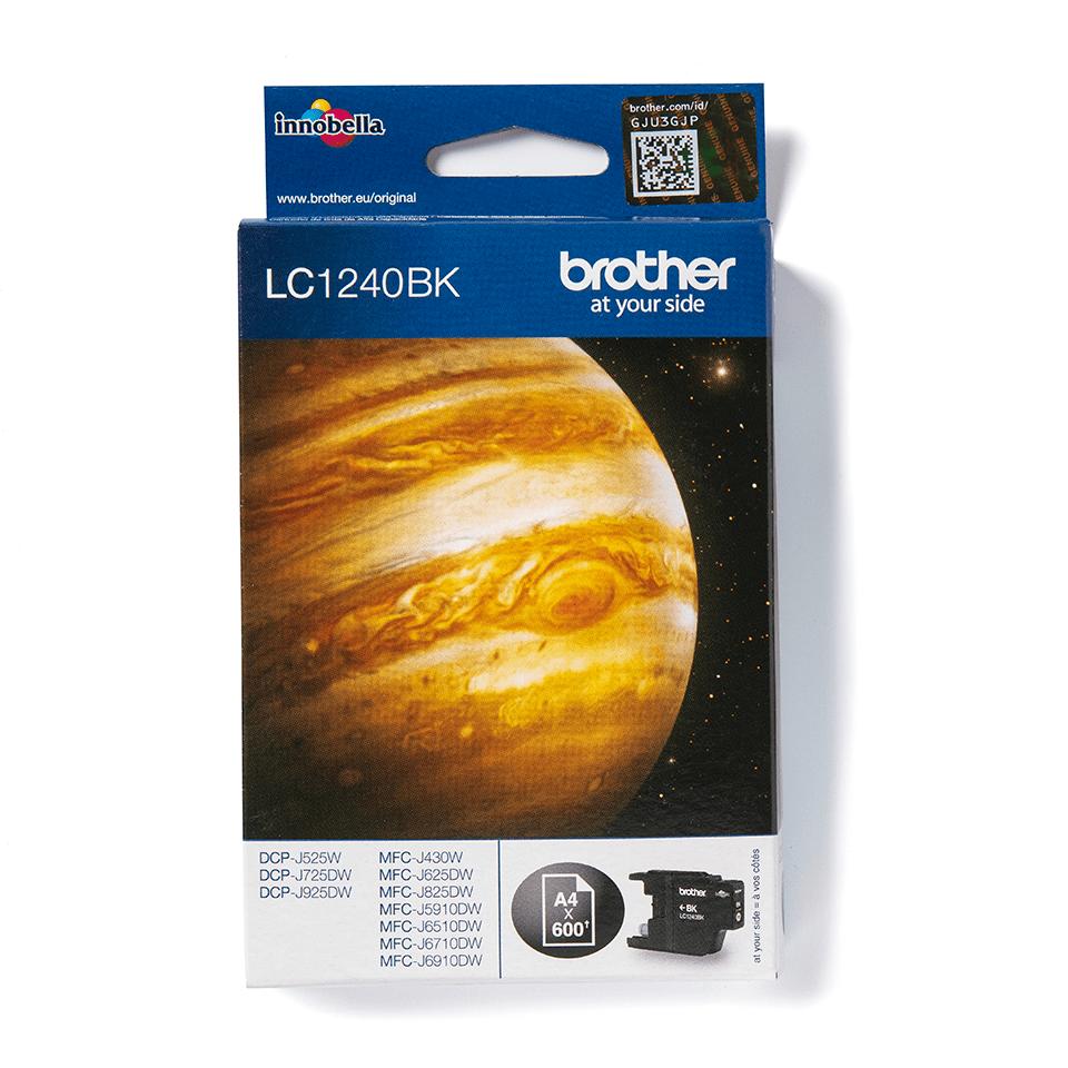 Originalna kartuša Brother LC1240BK – črna