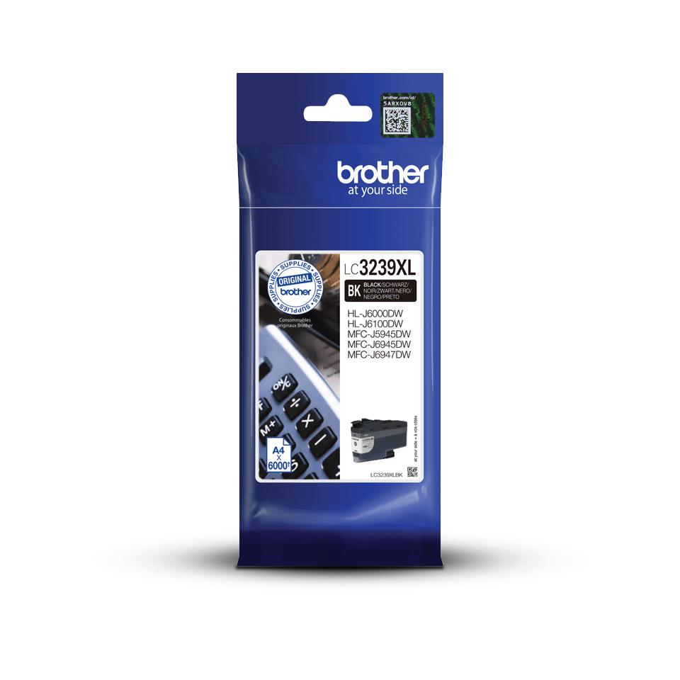 Originalna kartuša velike kapacitete Brother LC3239XLBK – črna 3