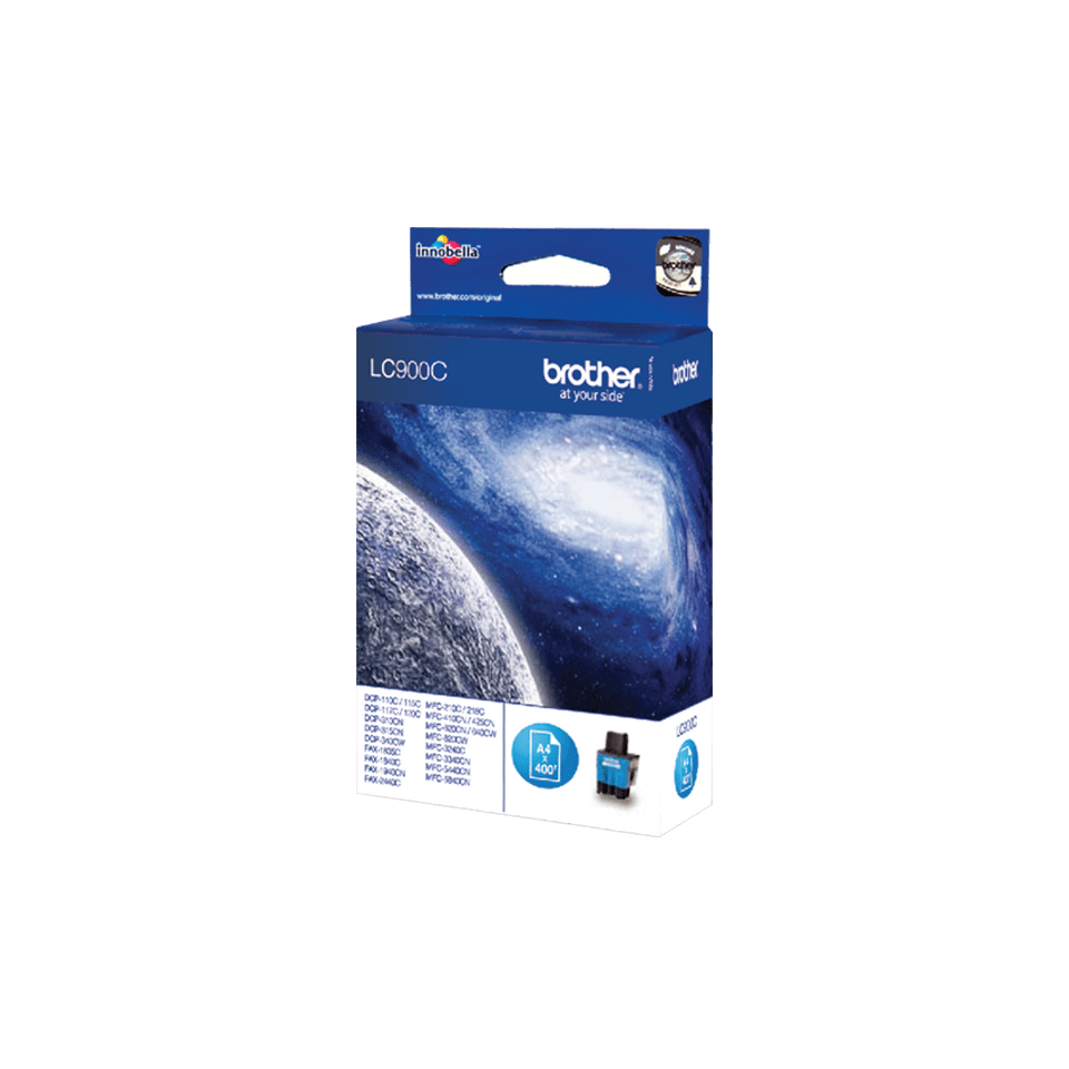 Genuine Brother LC900C Ink Cartridge – Cyan 2