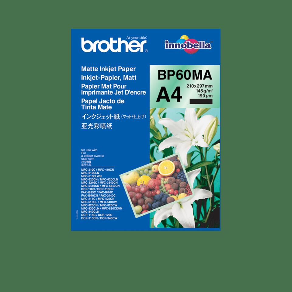 Originalen Brother BP60MA mat papir A4