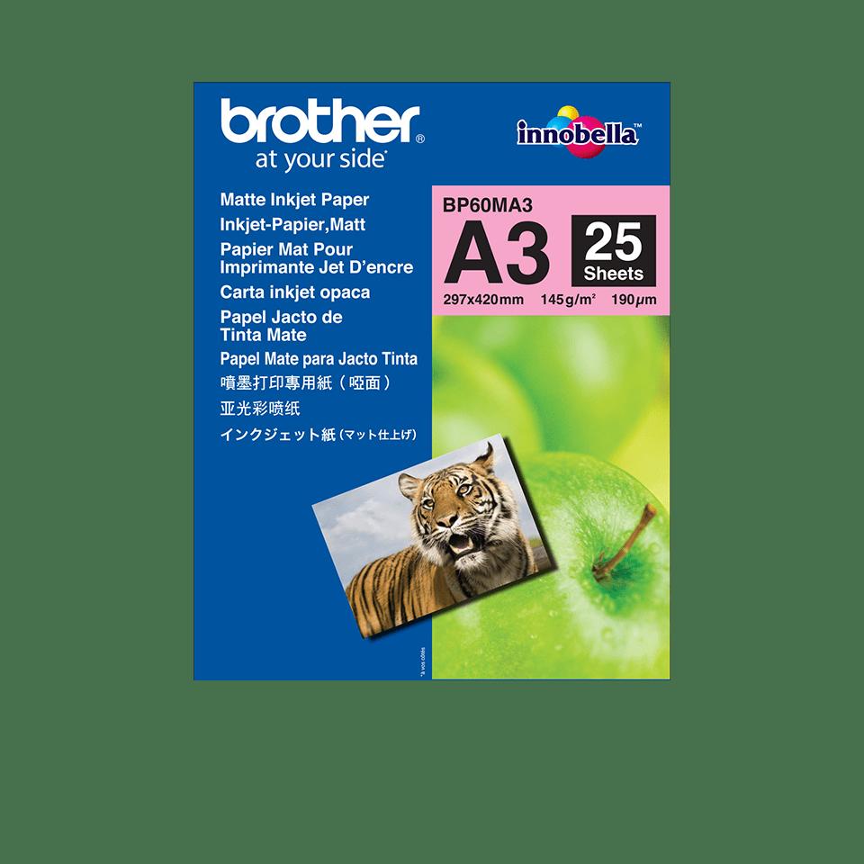 Originalen Brother BP60MA3 mat papir A3