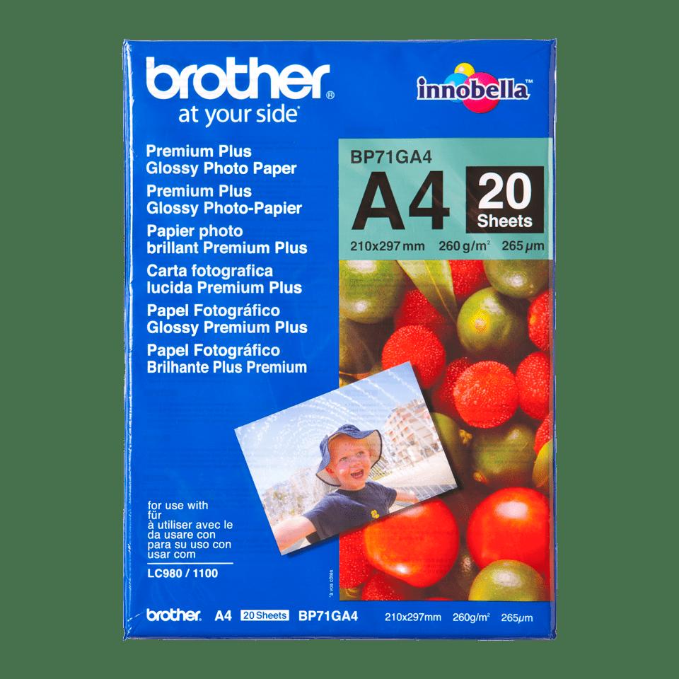 Originalan Brother BP71GA4 svetleči foto papir A4