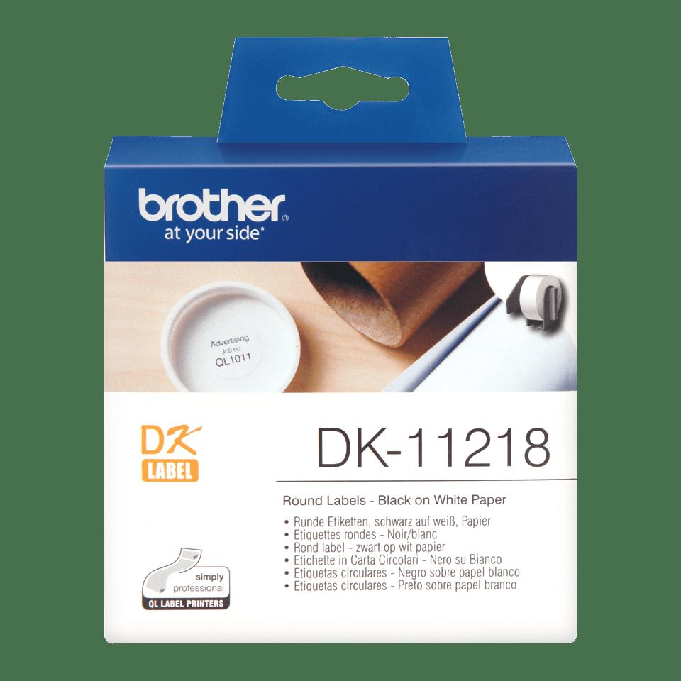 Originalna Brother DK-11218 rola za označevanje