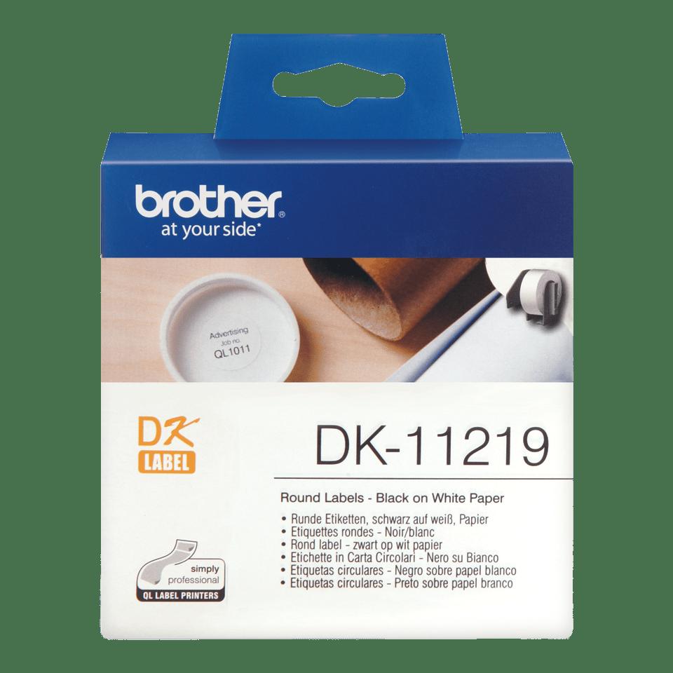 Originalna Brother DK-11219 rola za označevanje