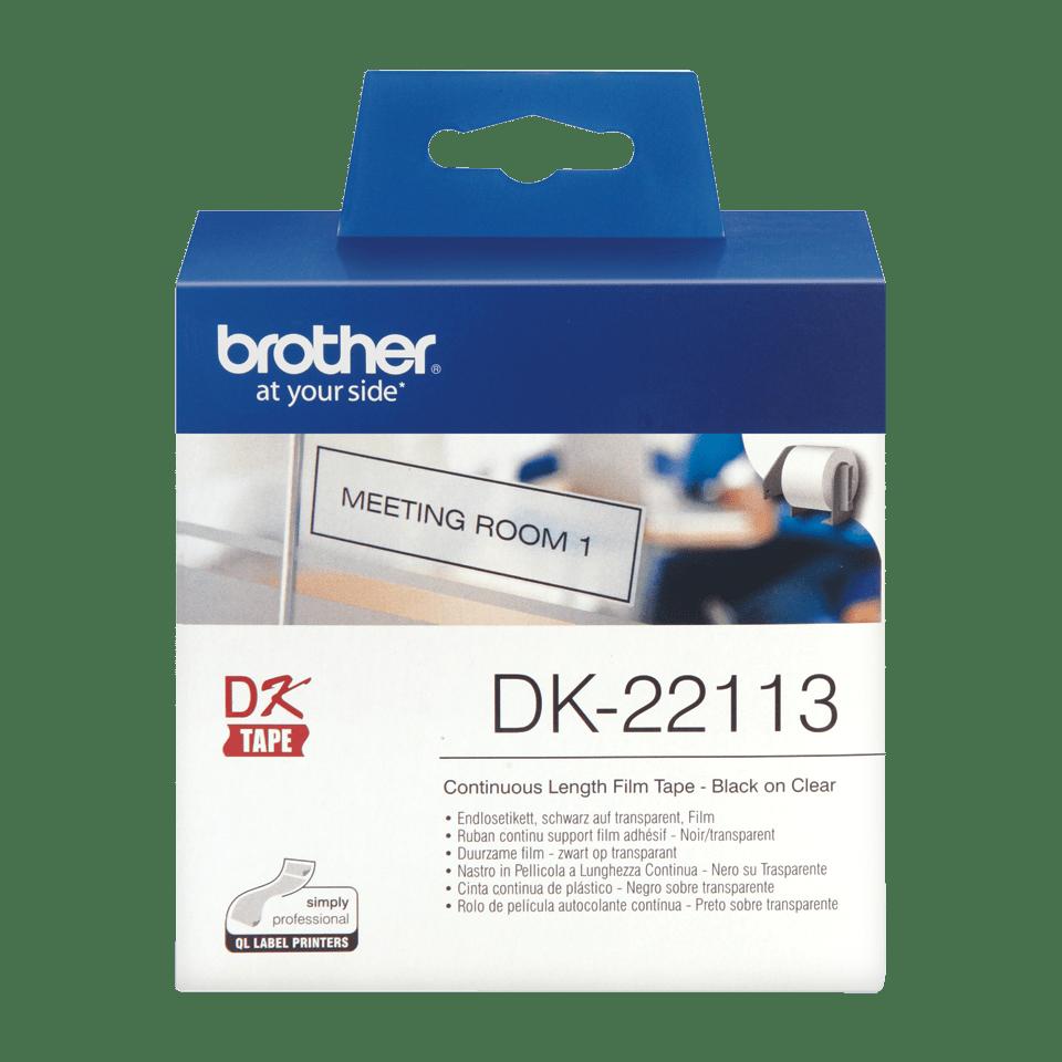 Originalna Brother DK-22113 rola z neskončnimi poliestrskimi nalepkami 2