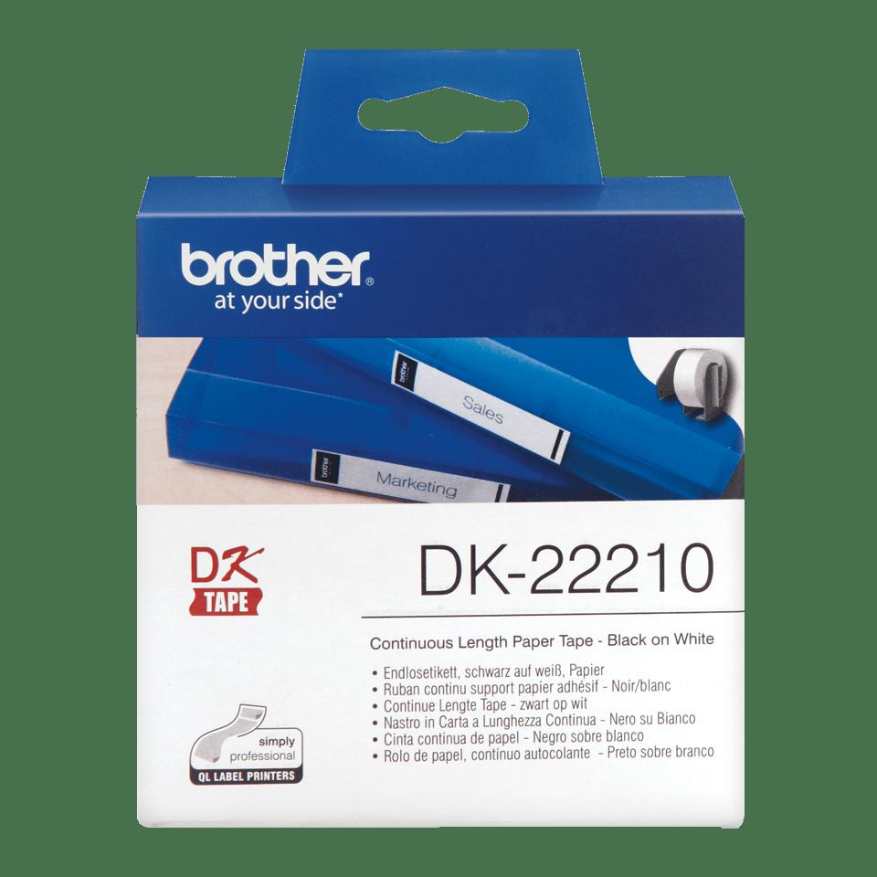 Originalen Brother DK-22210 trak za označevanje