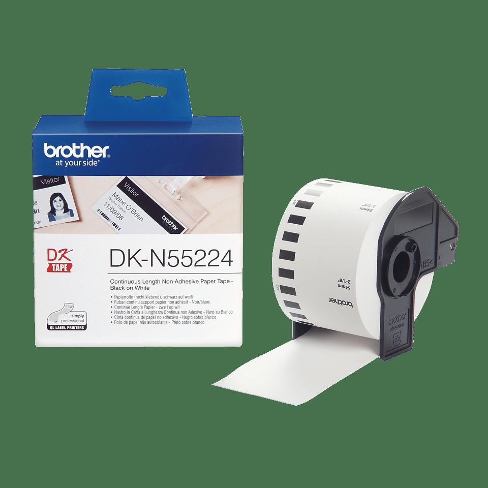 Originalna Brother DK-N55224 neskončna nelepljiva papirnata rola 3