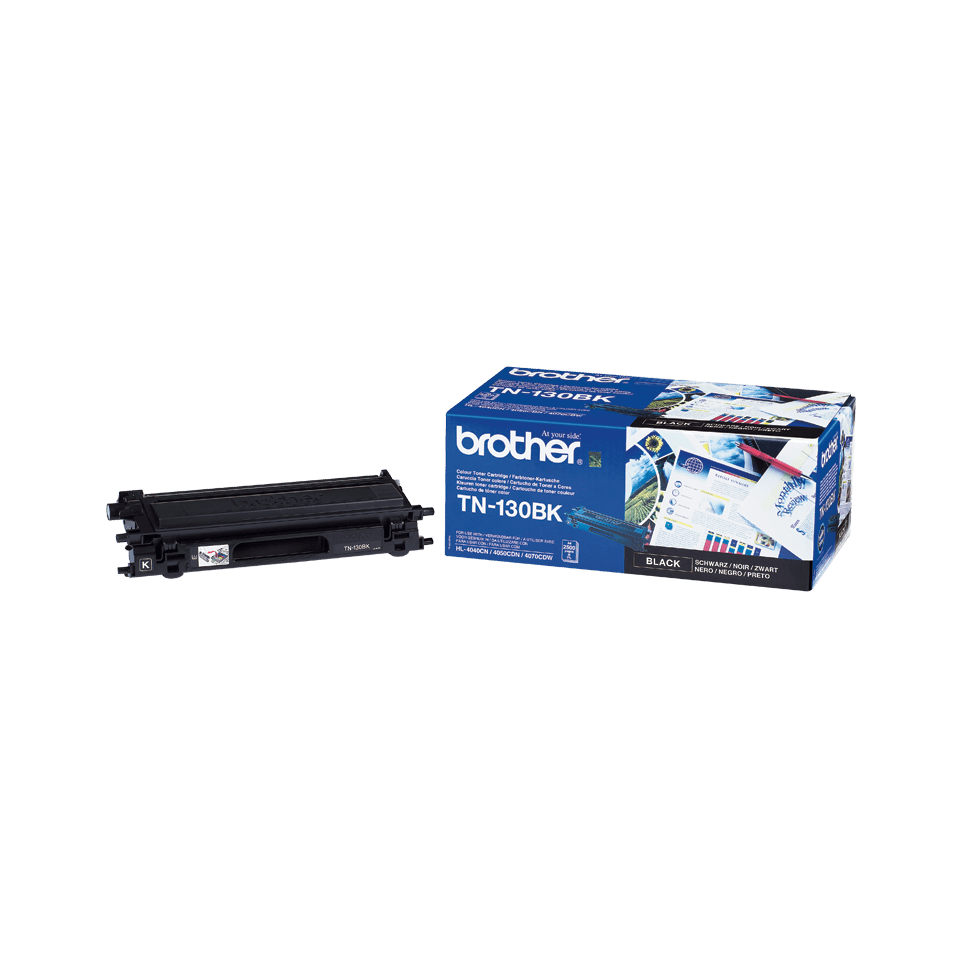 Originalen toner Brother TN-130BK – črn