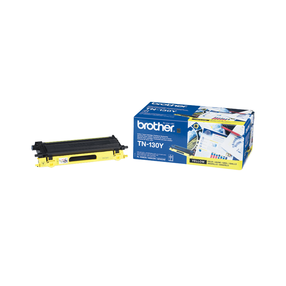Originalen toner Brother TN-130Y – rumen