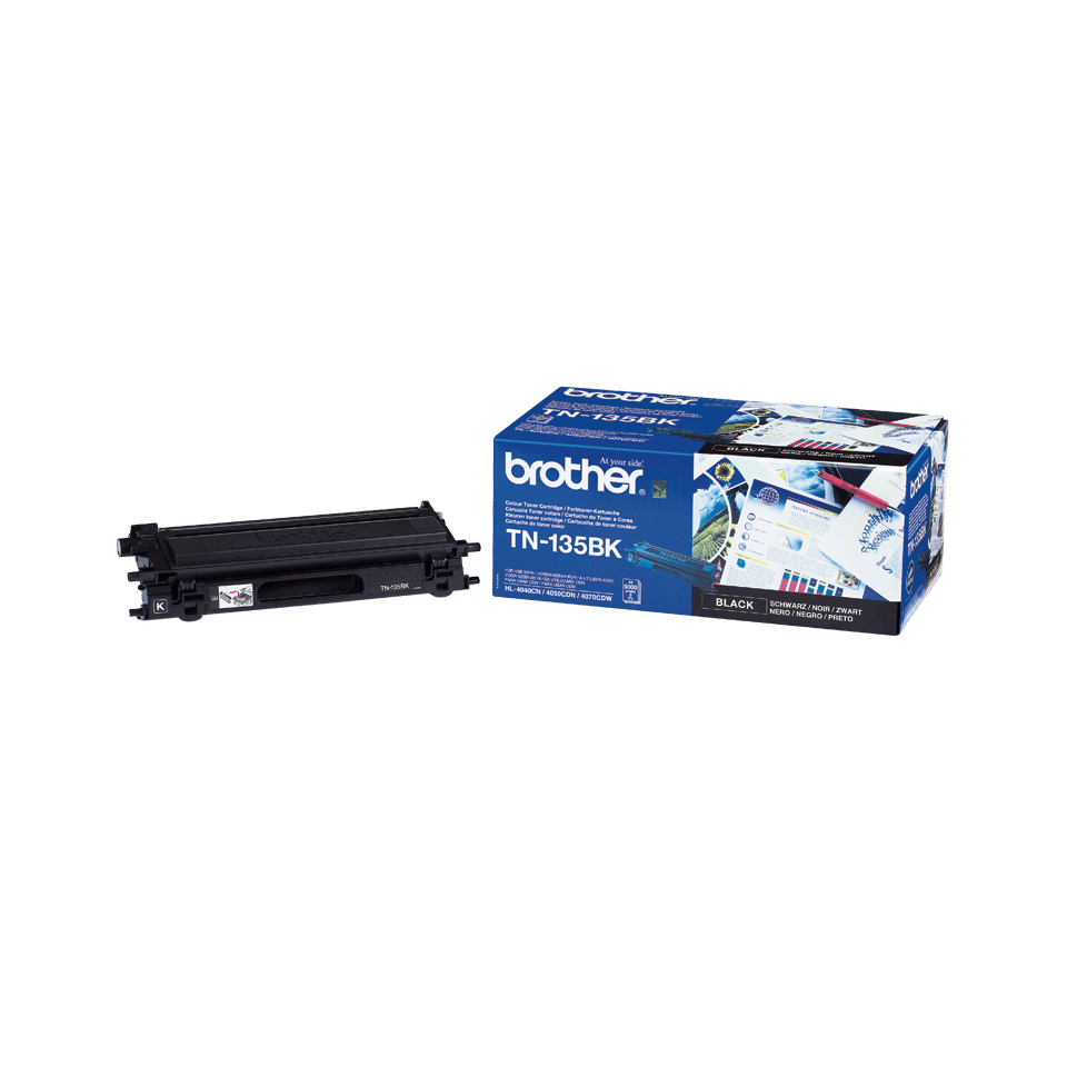 Originalen velik toner Brother TN-135BK – črn