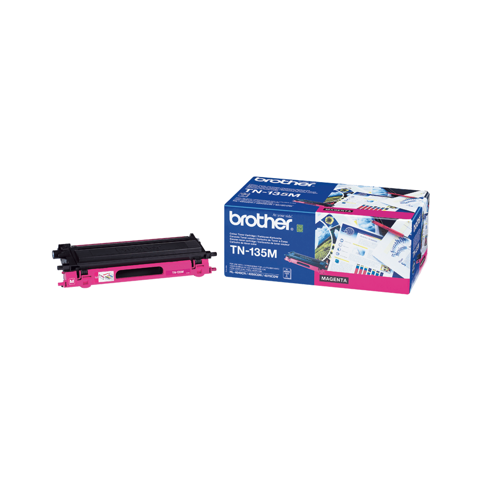 Originalen velik toner Brother TN-135M – magenta