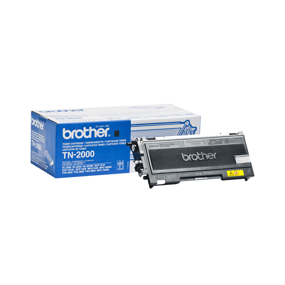 Originalen Brother TN-2000 toner – črni