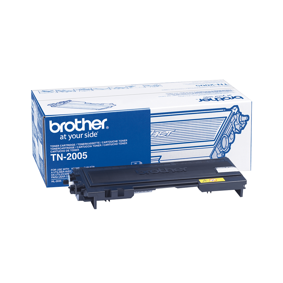Originalen Brother TN-2005 toner – črni