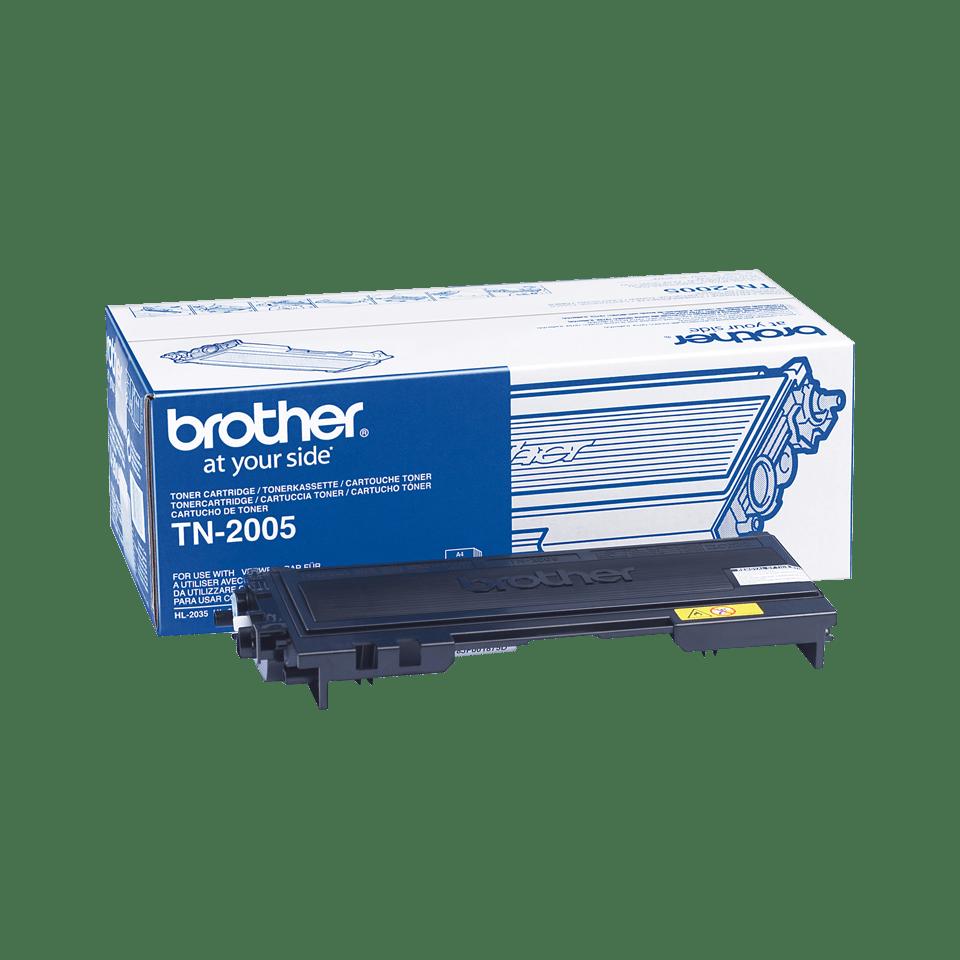 Originalen Brother TN-2005 toner – črni