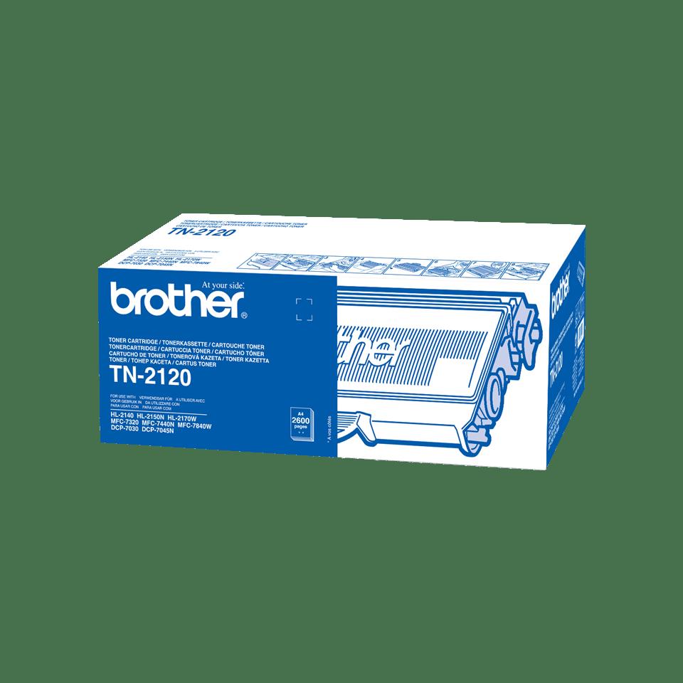 Originalen veliki toner Brother TN-2120 – črn
