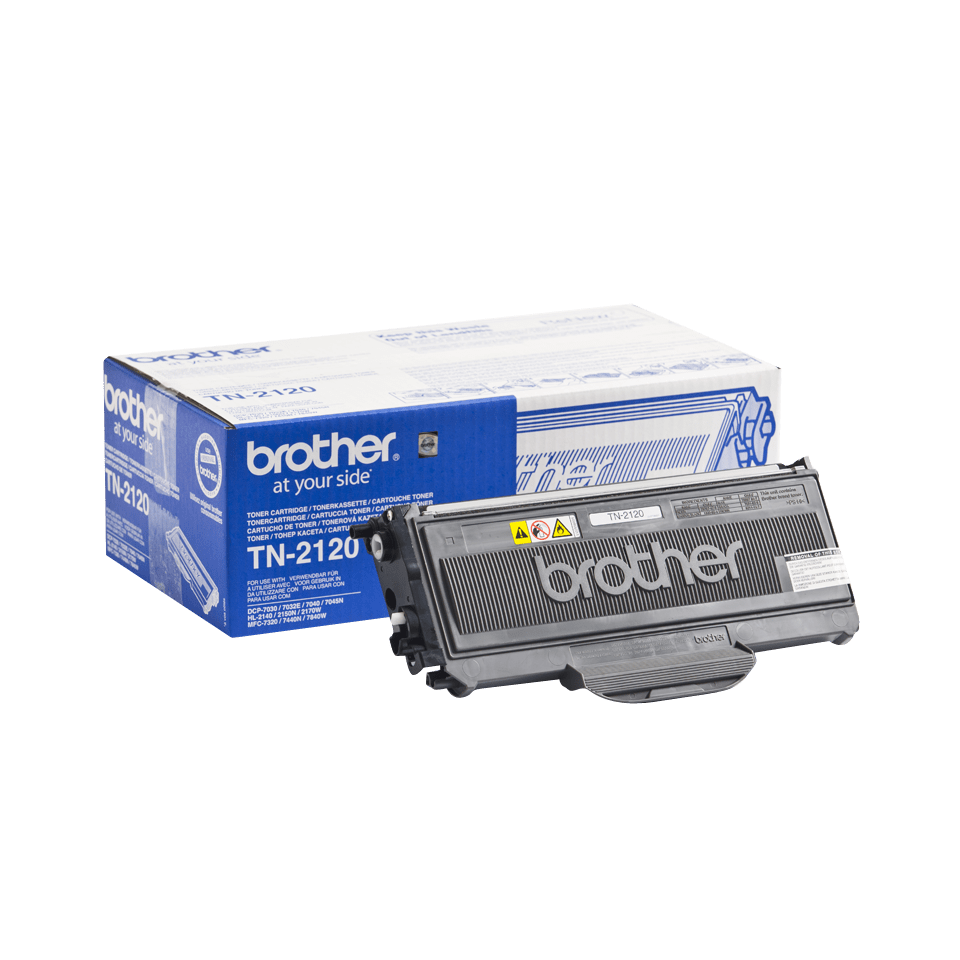 Originalen veliki toner Brother TN-2120 – črn