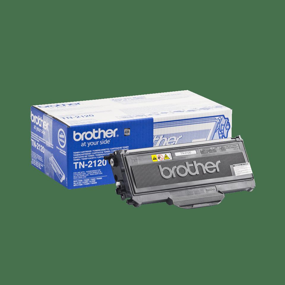 Originalen veliki toner Brother TN-2120 – črn 2