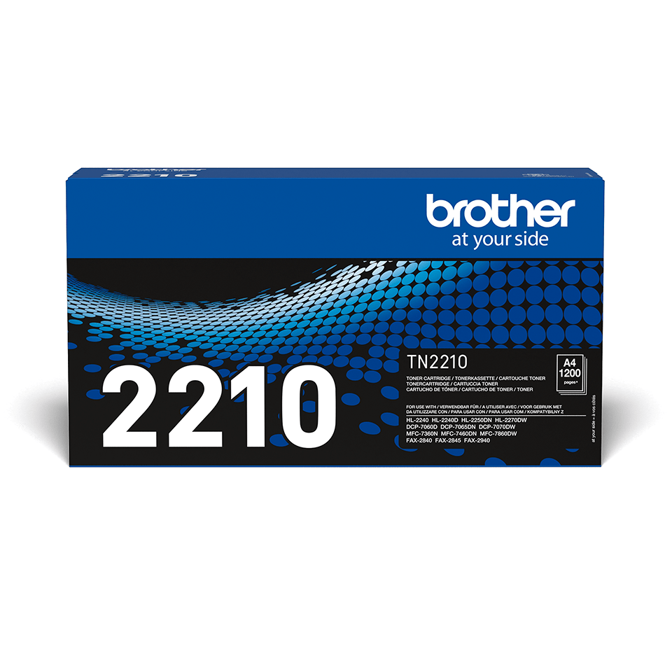 Originalen toner Brother TN-2210 – črn