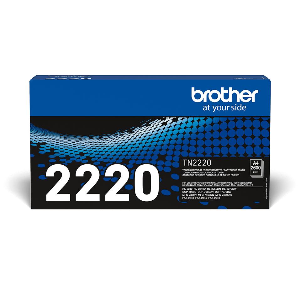 Originalen veliki toner Brother TN-2220 – črn